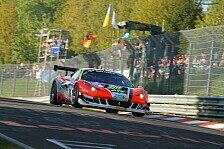 24 h Nürburgring - GT Corse: Herr Rossi hatte kein Glück
