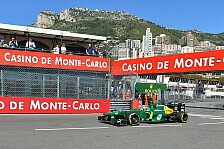 Formel 1 - Erneute Geldstrafe f�r Caterham: Van der Garde in der Boxengasse zu schnell