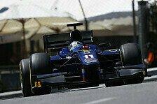 GP2 - Zweigeteiltes Qualifying: Monaco: Bird Schnellster im Training