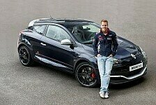 Auto - Limitierte Sonderserie von Renault: M�gane Coup� R.S. Red Bull Racing RB8