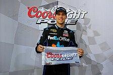 NASCAR - Das l�ngste Saisonrennen startet am Sonntag: Hamlin rast zur zweiten Saison-Pole