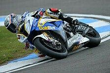 Superbike - Davies wollte nur Bedingungen testen: Melandri mit Tag eins zufrieden