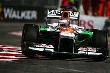 Formel 1 - Mallya freut sich �ber bestes Monaco-Resultat: Di Resta: St. Devote als schottischer Hot Spot