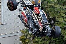 Formel 1 - Ein Lotus am Abschlepphaken: Kommentar: Grosjean = Teilesalat im F�rstentum