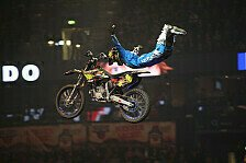NIGHT of the JUMPs - Achte Runde der FMX-WM in Riga: Titelkampf geht weiter