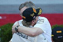 Formel 1 - Wollen n�chstes Jahr an die Spitze: Rosberg: Brawn ein gro�artiger Teamchef