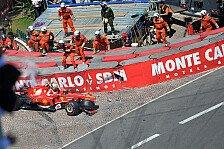 Formel 1 - Identische Unf�lle - verschiedene Ausl�ser: Problem am Auto verursacht Massa-Unfall