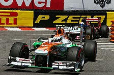 Formel 1 - Mentale St�rke & grandiose �berholman�ver: Force India: Nie an Sutil gezweifelt