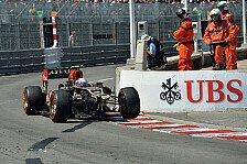 Formel 1 - Es wird eng: Lotus mit Rekordverlust