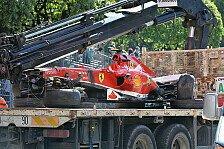 Formel 1 - Start in Kanada gesichert: Ferrari gibt Ursache f�r Massa-Unfall bekannt