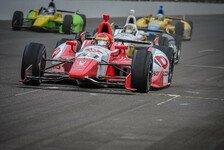 IndyCar - F�hle mich im DW12 immer wohler: Mann f�hrt in Fontana f�r Dale Coyne Racing