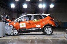 Auto - Bestwerte in der Klasse: F�nf Crashtest-Sterne f�r Renault Captur