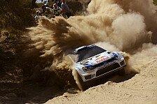WRC - Hirvonen verliert sechs Minuten: Ogier: Aus auf WP1 in Griechenland