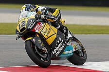 Moto2 - Rang zehn im zweiten Training: L�thi: Trotz Schmerzen schrumpft der Abstand