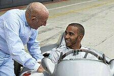 Formel 1 - Bilder: Hamilton trifft Moss