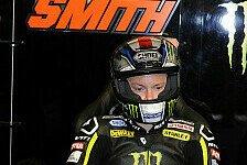 MotoGP - Finger nicht in OP-f�higer Verfassung: Smith: Vorerst keine Hauttransplantation