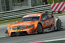 DTM - Stark bei allen Bedingungen: Wickens erneut bester Mercedes-Fahrer