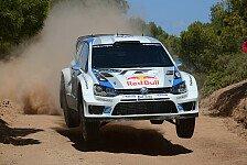 WRC - Latvala noch lange nicht fertig: Sardinien: Ogier bringt es gem�tlich zu Ende