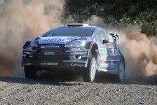WRC - Immer noch ein langer Weg: Novikov: Ein Felsen war im Weg