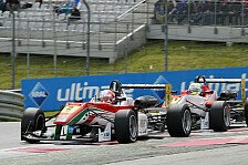 Formel 3 EM - Titelkampf bleibt spannend: Rennen 2: Lynn siegt - Drama um Marciello