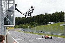 Formel 3 EM - Wolf erstmals auf dem Podium: Rosenqvist feiert Sieg beim Abbruch-Rennen