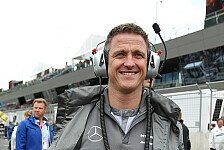 DTM - Ich finde es von drau�en interessanter: Schumacher: R�cktritt nie bereut