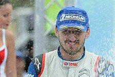 WRC - Griechenland vielleicht ein Wendepunkt: Kubica: Es ist ein gro�artiger Tag f�r mich