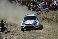 WRC - Novikov erster Verfolger: Latvala gewinnt Sardinien-Qualifying