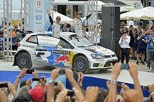 WRC - Sicherheit und Gesundheit gehen vor: Volkswagen: Mikkelsen muss Start absagen