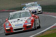 Carrera Cup - Erhart froh �ber Ende der rennfreien Zeit: H�rtetest f�r Elia Erhart am N�rburgring
