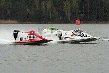 ADAC Motorboot Masters - Titelverteidiger erstmals am obersten Treppchen: Erster Sieg von Riabko