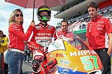 Moto3 - Sponsoren zwingen zu Wechsel: Granado wechselt von Aspar zum Team Calvo