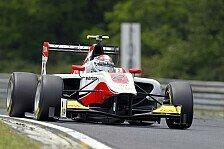GP3 - Schnellste Runde der Testfahrten: Regalia am zweiten Testtag mit Bestzeit