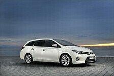Auto - Erster Kompakt-Kombi mit drei Antriebsarten: Produktion des Toyota Auris Touring Sports startet