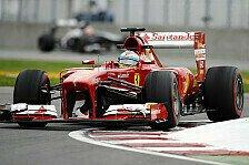 Formel 1 - Evaluierung neuer Teile im Vordergrund: Alonso: Zeiten nicht aussagekr�ftig