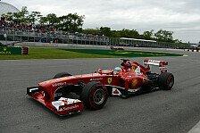 Formel 1 - Massa will auf alles vorbereitet sein: Ferrari: Schwieriger Tag trotz Bestzeit