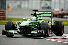 Formel 1 - Radikales Ende eines positiven Trends: Van der Garde: M�chte mich bei Mark entschuldigen