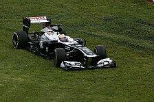 Formel 1 - Maldonado-Crash mit harmlosen Folgen: Hauptproblem bei Williams: Temperatur der Reifen