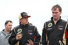 Formel 1 - Einfach nicht angemessen: Lotus entschuldigt sich f�r Kimi-Funkspruch