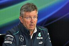 Formel 1 - Ross ist der Boss: Mercedes: Kein Wechsel von Brawn zu Lowe