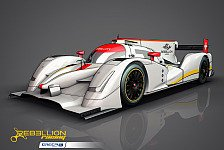 WEC - Rebellion R-One: Crashtest im Januar