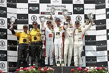 ADAC GT Masters - Spannender Kampf zwischen BMW und Porsche: Mies und Rast auf dem Sachsenring unschlagbar