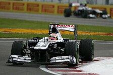 Formel 1 - Mit Williams an die Spitze: Maldonado spielt Wechselger�chte herunter