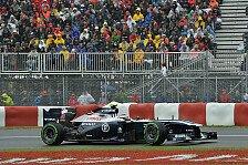 Formel 1 - Einen Schritt nach vorne gemacht: Williams w�rde nasses Rennen bevorzugen