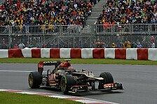 Formel 1 - Balance des Autos hat nicht gestimmt: Gerard Lopez