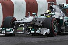 Formel 1 - Kompliment f�r Teamkollege Hamilton: Rosberg: Nach Q3 ist vor dem Regentanz