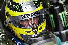 Formel 1 - Fokus wieder auf Entwicklungsprogramm: Rosberg: Testausschluss eine geringe Strafe