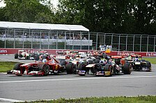 Formel 1 - Performance unter der Lupe: �berholk�nige: Lotus & Ferrari am st�rksten