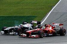 Formel 1 - Viele gute �berholman�ver: Massa: Ein Kampf vom Start bis ins Ziel