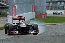 Formel 1 - Noch zu fr�h f�r eine Beurteilung: Horner: STR-Youngster m�ssen sich gedulden